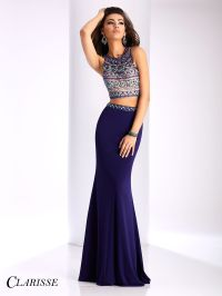Clarisse Beaded Two Piece Prom Dress 3020 | Prom, Purple ...