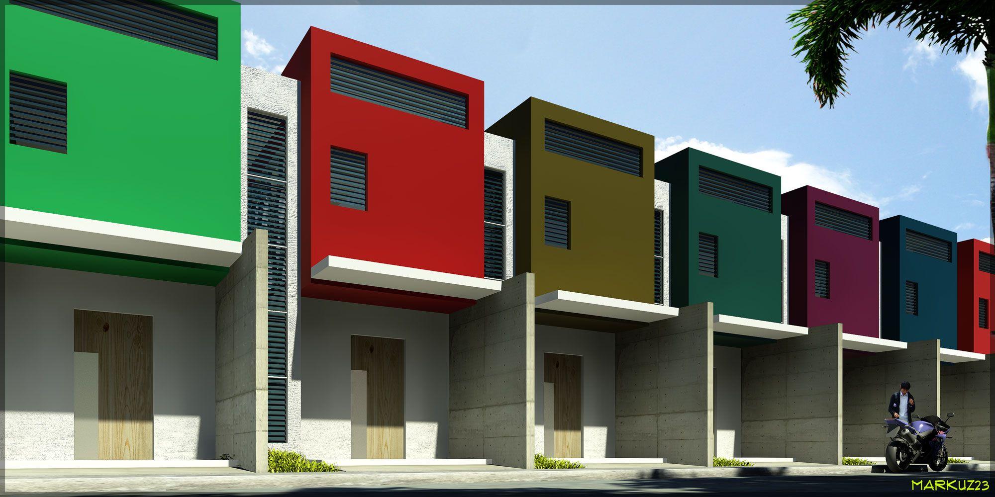 Row House Markuz23 RowHouses Pinterest Ideas House Design
