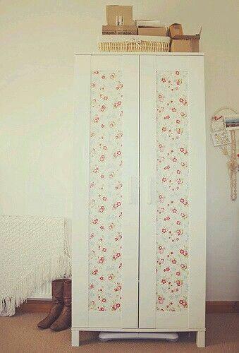 Ikea Aneboda Wardrobe Hack With A Shabby Chic Look