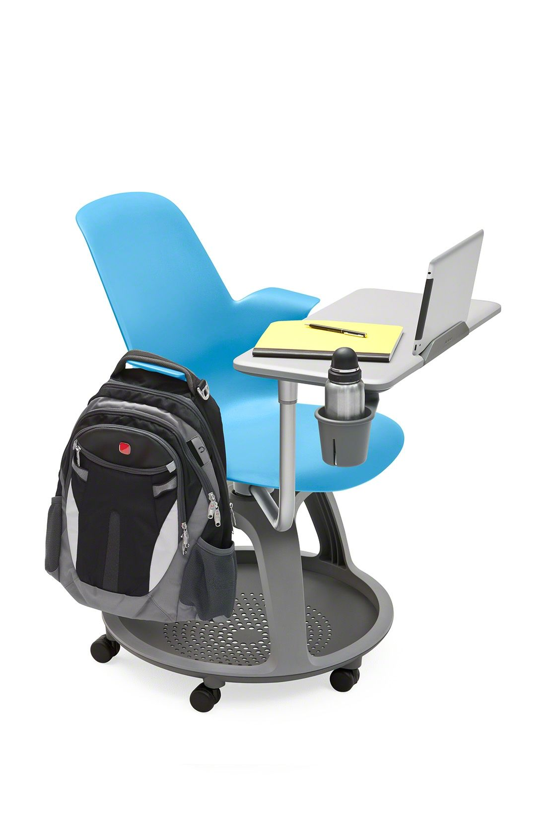 ipad stand for chair menards folding chairs steelcase has just recently introduced a tablet holder