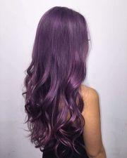 metallic purple hair love