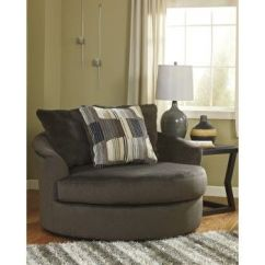 Oversized Swivel Chairs For Living Room Childrens Comfy Westen Chocolate Accent Chair Sofas