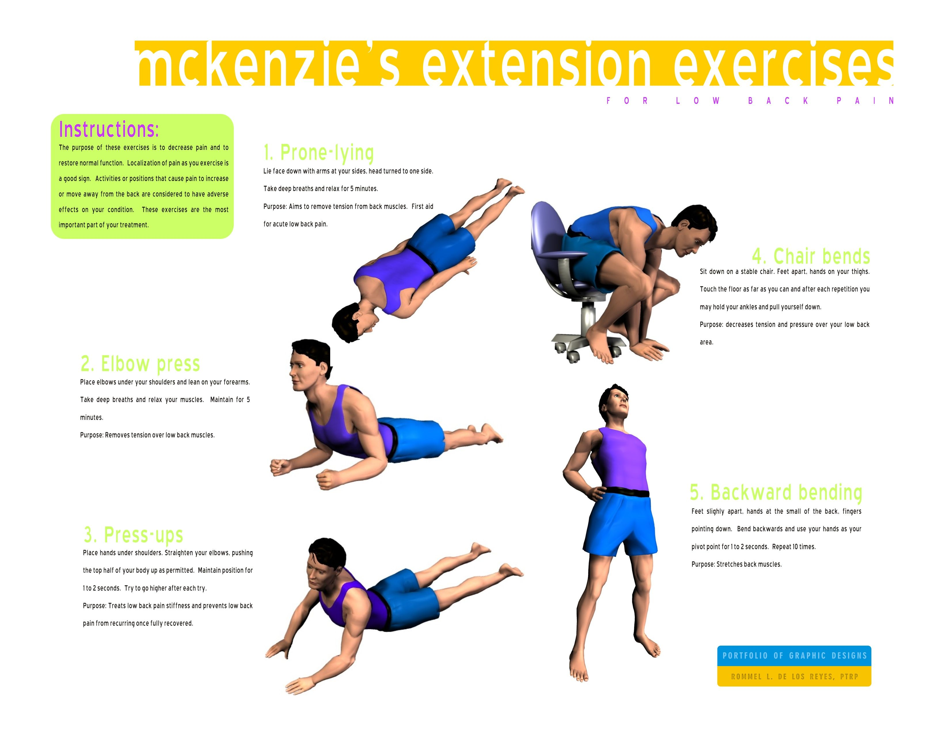 Mckenzie Exercises For Low Back Pain
