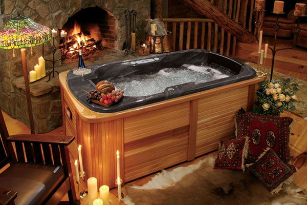 The Perfect Couples Hot Tub Patio Pinterest Perfect