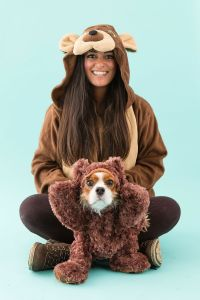 4 Funny DIY Dog and Dog Owner Costumes | Teddy bear ...