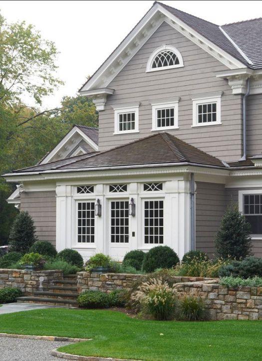 Beautiful Exterior Paint Benjamin Moore Gray | Home Painting ZC41