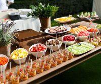Brunch, Garden, Outdoor Wedding Reception Ideas || Colin ...