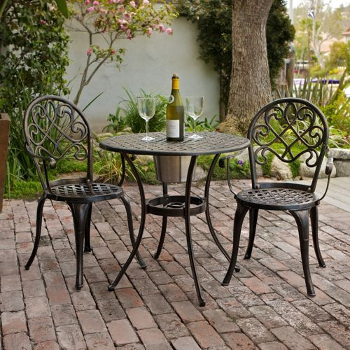 cover chairs wholesale kantha butterfly chair camden 3-piece patio bistro set » welcome to costco | porch decore pinterest ...