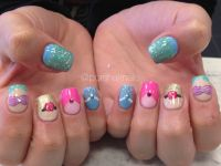 Disney princess nails Acrylic nails