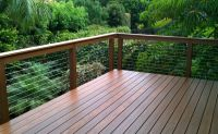 cable system for deck railing