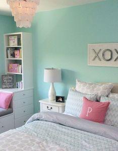 Aqua walls also stunning love blue for teenage bedroom ideas https rh pinterest