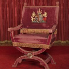 How To Make A Queen Throne Chair Cover Hire Aberdare Made For The Coronation Of King George Vi