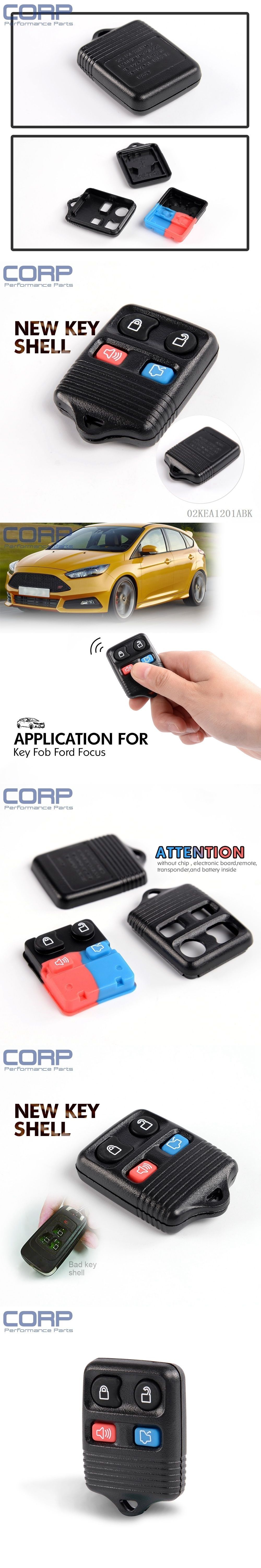 medium resolution of new case only keyless entry remote key fob for ford focus escape explorer