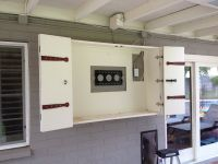 Image result for outdoor tv wall mount cabinet | Outdoor ...