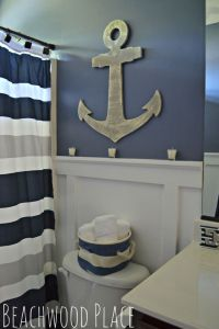 HOME DECOR  COASTAL STYLE  nautical bathroom decor ...