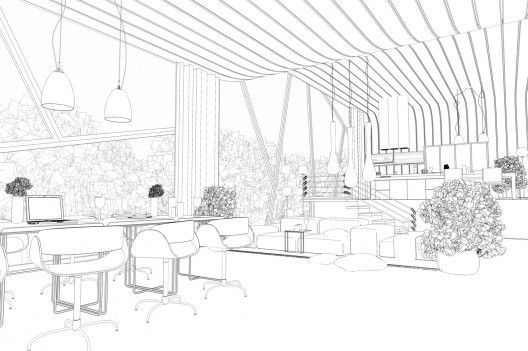 interior outline 528x351 Making of ASGVIS VRay for
