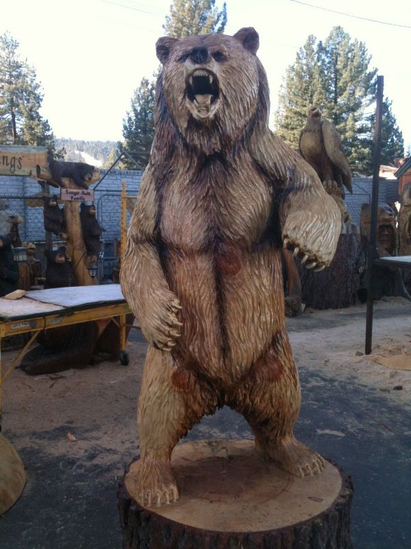Pin Veralyn Wall Chainsaw Carving Ideas