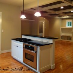 Kitchen Island With Sink And Stove Top Blinds Separate From Oven