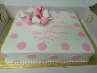 baby shower cakes for girls | Baby shower cakes ideas for ...