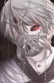 Ken Kaneki. Tokyo Ghoul