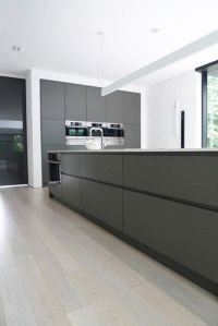 Contemporary Home Design, Modern Kitchen Sink With Gray ...