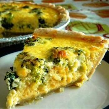17 Best ideas about Broccoli Quiche on Pinterest