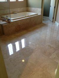 Polished Travertine Floor | Natural Stone Polishing ...
