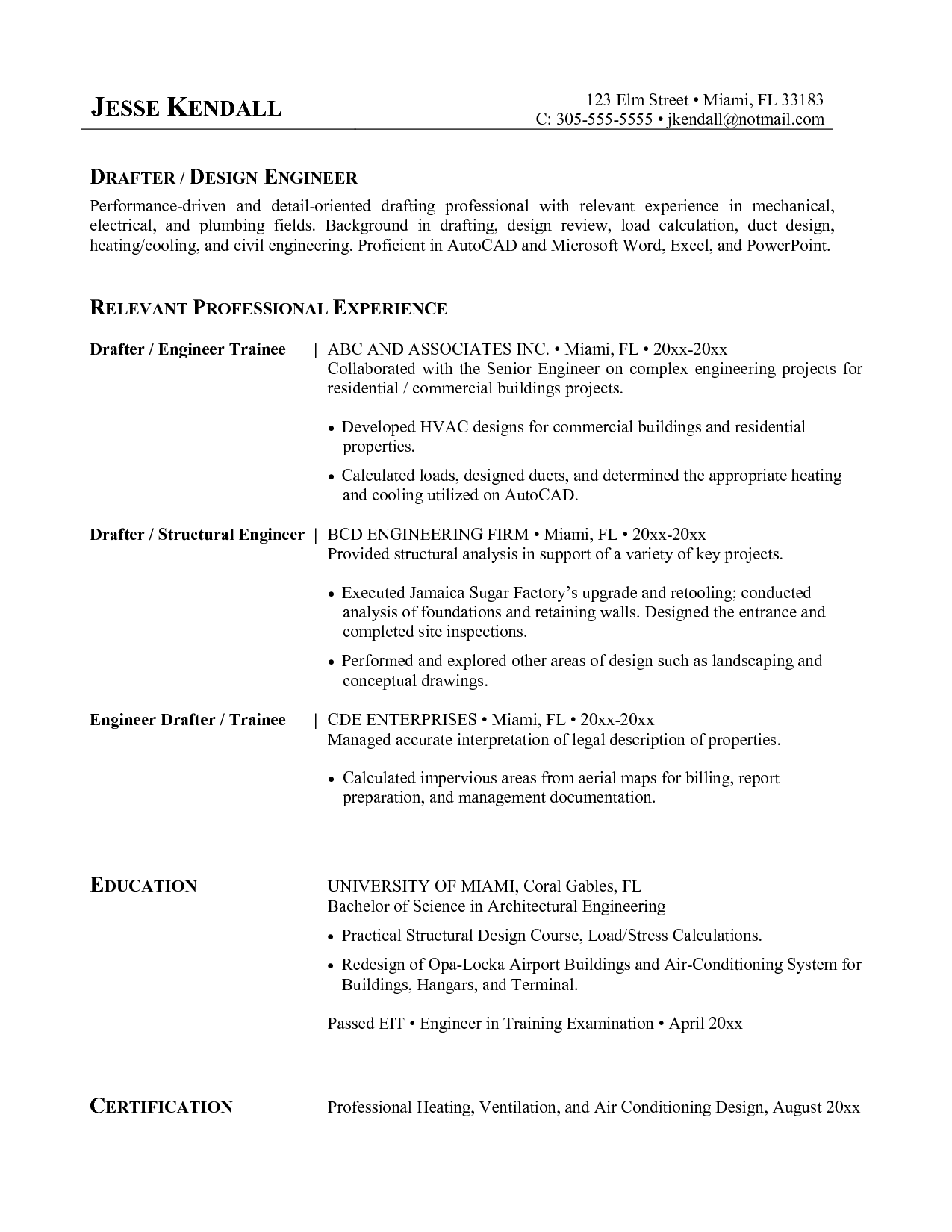 great hvac resume sample hvac resume samples templates hvac - Hvac Resume Format
