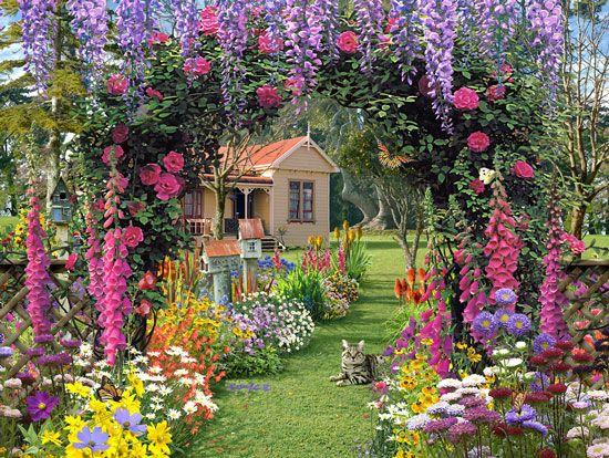 Cottage Garden Plans Cottage Garden Ideas Pictures Perfect Home