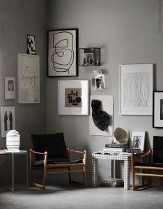 gallery corner also galleries and interiors rh pinterest