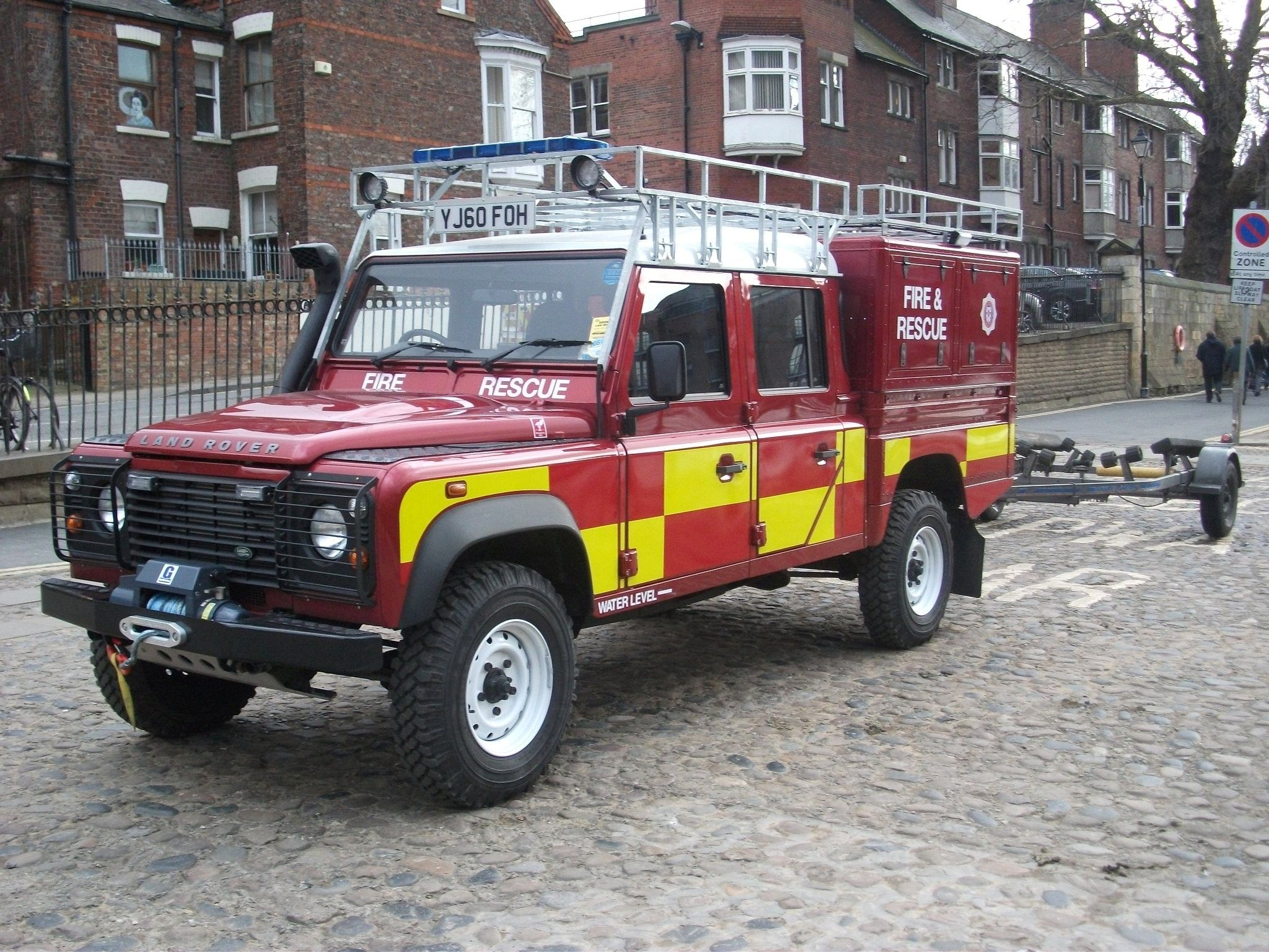 Yorkshire Air Museum Fire & Rescue Service