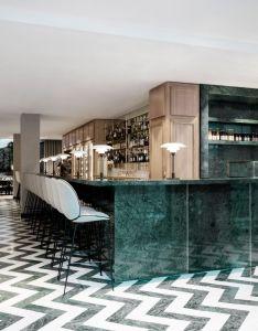 Gamfratesi creates furniture and interiors for maison du danemark in paris also rh pinterest