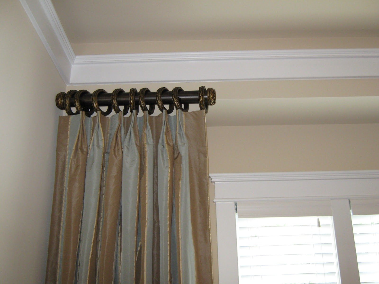 Decorative Side Panel Curtain Rod Panels Is A Decorative Use