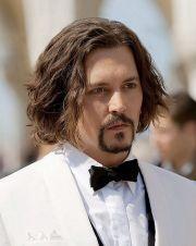 long hairstyles men male