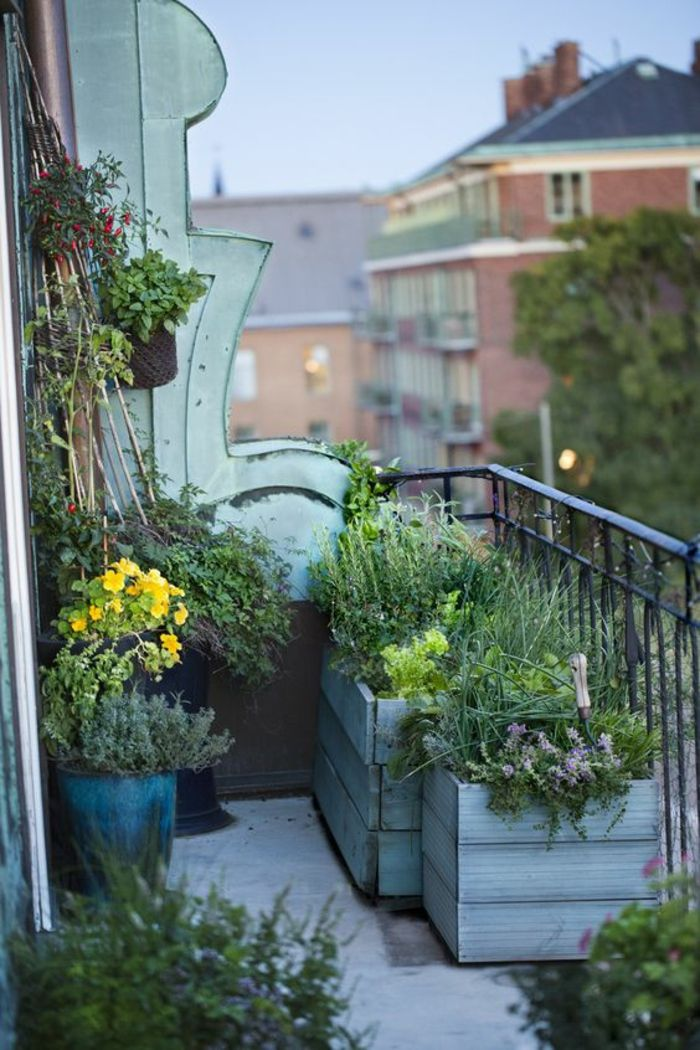 krautergarten selber bauen - terrasseenbois, Terrassen ideen