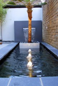 Pics For > Contemporary Garden Water Fountains | Garden ...