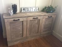 DIY furniture: Laundry Sorter, plans by shanty to chic ...