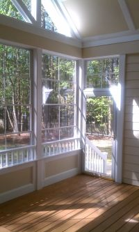 half wall screened porches | More ENVISION BUILT Porch ...