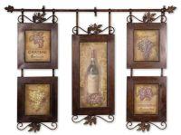 Wine Themed Tuscan Kitchen Wall Decor Ideas   Home Decor ...