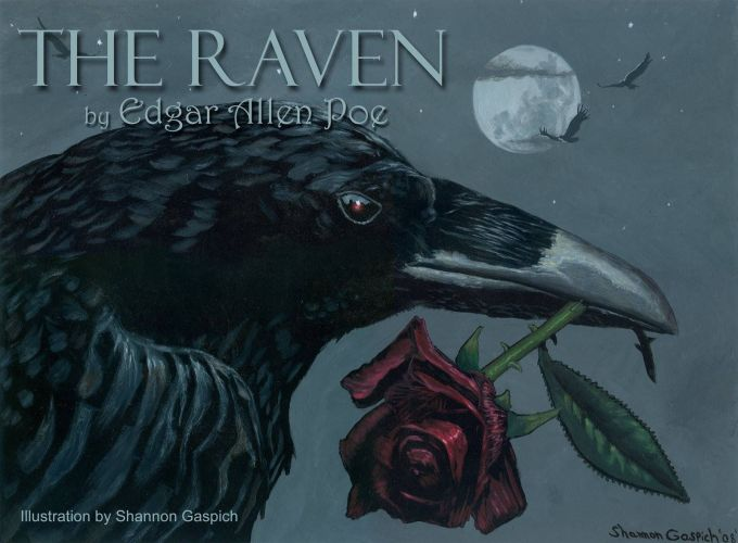 The Raven Wallpaper For Is A