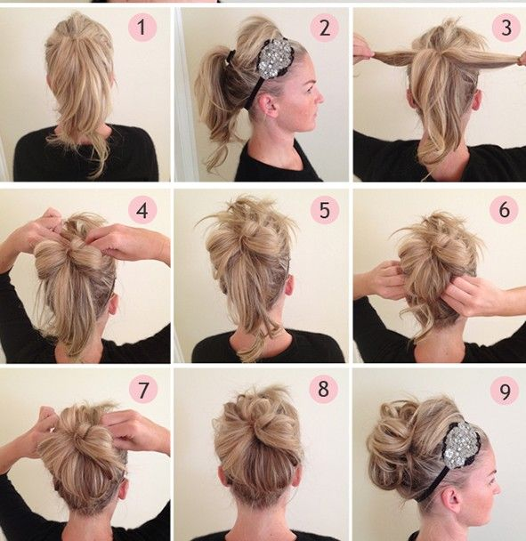 Easy Step By Step Prom Hairstyles 100 HAIR Pinterest So Cute