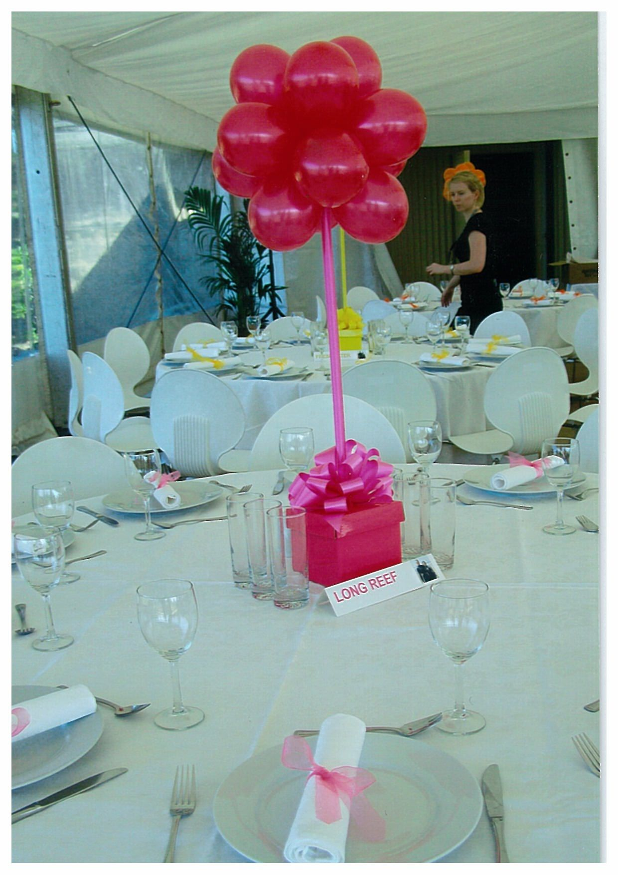 Party Table Centerpieces