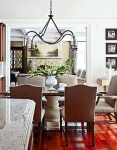 Our most beautiful kitchens traditional home by kara mann interior designer table with stone pedestal base also glamour and sophistication pinterest rh