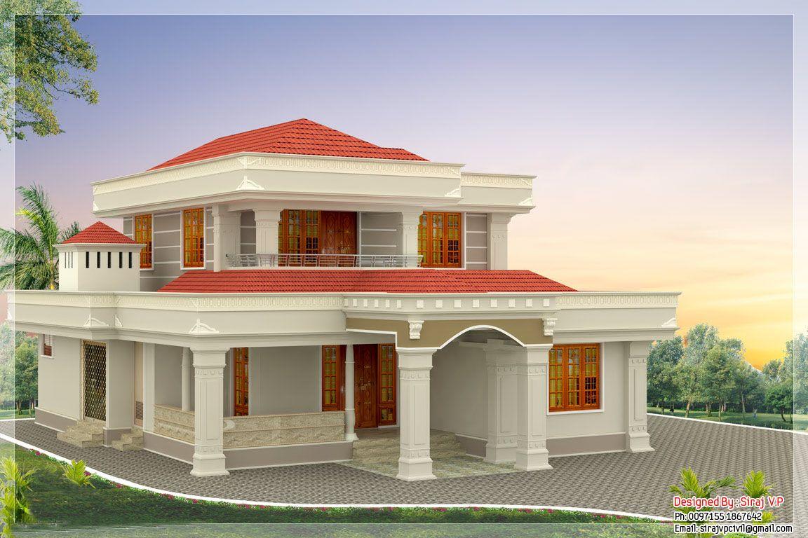 Kerala Home Design 4 6 KeralaHousePlanner SAUDI ARABIA ART