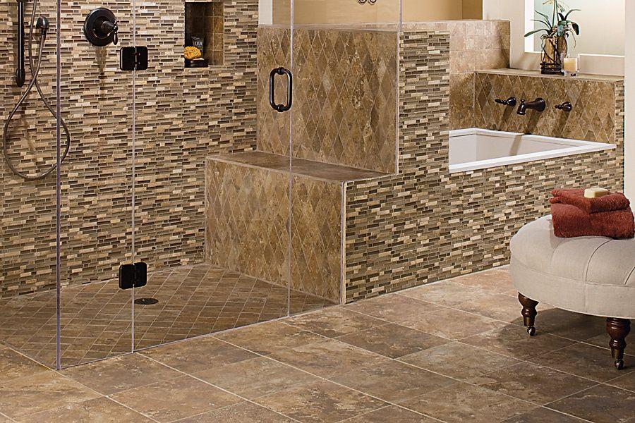 Mohawk Flooring's Villarreal tile in Almond Spice