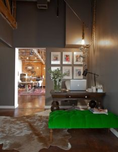 Mulu   creative vintage collective den apartment therapy also office tour rh za pinterest