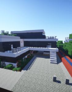 Minecraft designs modern house also creation pinterest rh