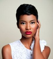 black women short haircuts 2014