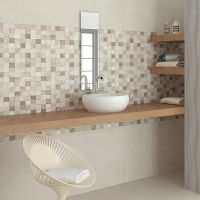 55x33.3 Adelaide Beige Mosaic - Bathroom Wall Tiles - Wall ...