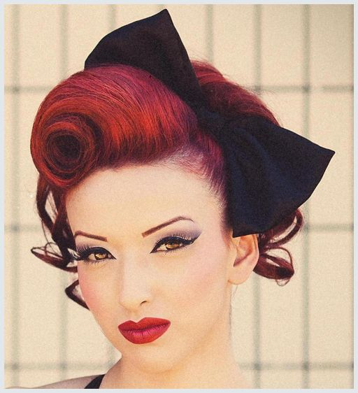 Hochsteckfrisuren Rockabilly Roll Hairstyle Costumes Pinterest